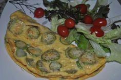 Poder nas mãos: Omelete de jiló  Eu sou suspeita, para falar desta...
