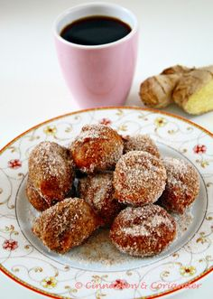 Coffee Ginger Doughnut  Holes