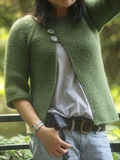 Lolliblog's Garter Stitch Swingy Sweater - free
