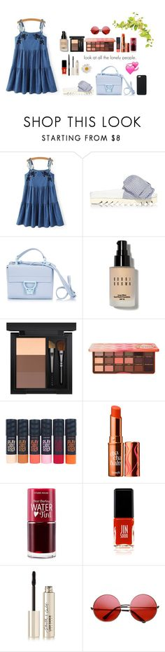 """Summer is very hot =))"" by soojinchoi ❤ liked on Polyvore featuring Joshua's, Coccinelle, Bobbi Brown Cosmetics, MAC Cosmetics, Too Faced Cosmetics, Etude House, Benefit, JINsoon, Chanel and Smith & Cult"