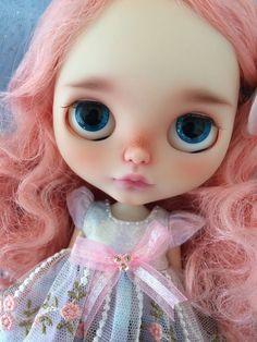 OOAK Custom Blythe Doll AbbyMUA sister by Donna por Moctopus