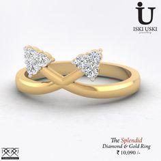 Splendid Diamond Wedding Ring - Buy Women's Diamond RingOnly on India's Largest Online Jewellery Store