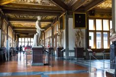 Uffizi Gallery, incredible collection and lovely building.