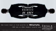 1 place achetée pour le film au Mégarama de Bordeaux, - 50% sur le second soin acheté chez Escale Détente