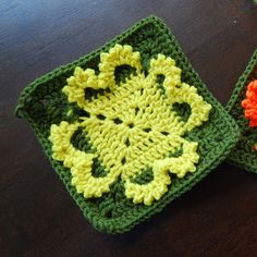 The Itsy Bitsy Spider Crochet: Great Granny Square Swap: Day 2