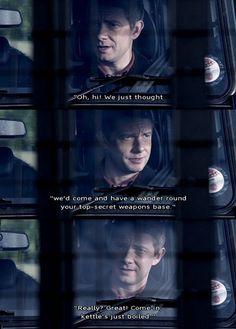I love it when John gets sassy.
