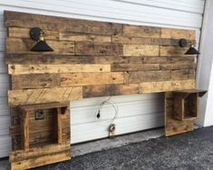 Diy wood headboard king size full size of wood headboard plans rustic headboard rustic lights headboard . Distressed Headboard, Rustic Wood Headboard, Modern Headboard, Headboard Designs, Headboards For Beds, Queen Headboard, Diy Pallet Headboard, Diy King Headboard, Headboard Ideas