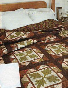 Oakley Valley Quilt Pattern Pieced/Applique SH