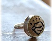 ...Mama's gonna buy you a diamond ring...    Metal, Cloth & Wood