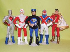 Customized Mego 8-inch action figures! —MT via @Art Sequential on Twitter and facebook.com/comixcomixcomix