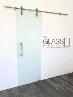 frameless frosted glass barn door any size free shipping