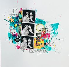 #papercraft #scrapbook #layout.   Welcome to Eb's Space