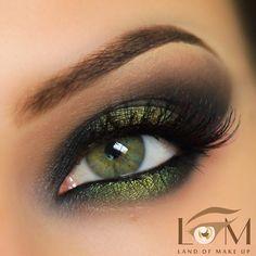 smoky olive green