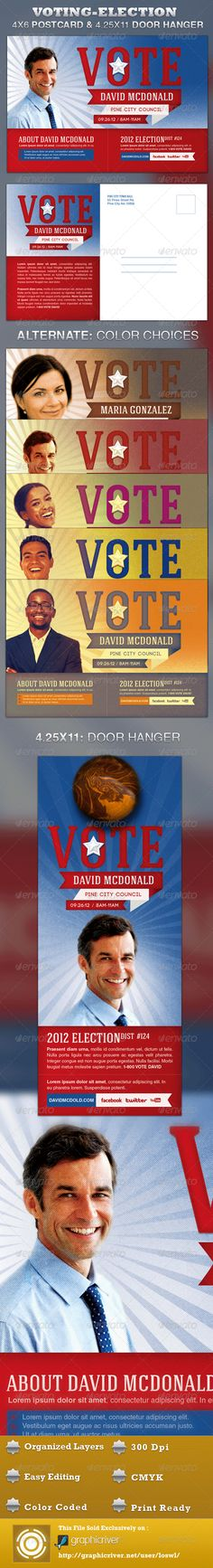 voting flyer templates free