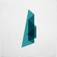 #107 Aurora triangularis – A new minimal geometric composition each day