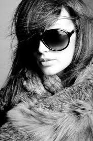 hair, sunglasses, fur...perfect