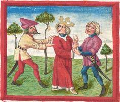 Deutsche Bibel AT, Bd. 1 (Gen. - Reg., Psalter) Bd. 2 (Paralip. - Malachias und einzelne Prologe) -  BSB Cgm 503, Regensburg,  um 1463  Folio 186