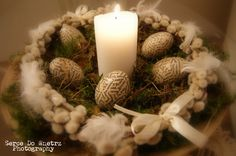 Wielkanocna dekoracja - opis ze zdjęciami