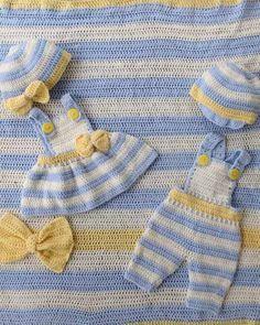Picture of Lemon Drop Layette Crochet Pattern
