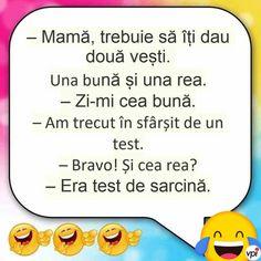 Două vești! - Viral Pe Internet Jokes, Internet, Humor, Random, Funny, Chistes, Humour, Memes, Funny Parenting
