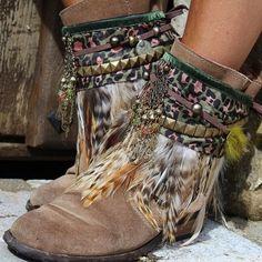 Express Shipping Women S Fashion Key: 1271156417 Hippie Boots, Gypsy Boots, Boho Boots, Hippy Fashion, Boho Fashion Summer, Fashion Boots, Fashion Spring, Bohemian Mode, Boho Chic