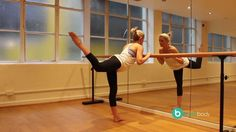 Barre Body - sequence of 5 excercises to help Get a Dancer's Body for body+soul | shown by Emma Seibold, founder