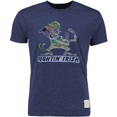 Notre Dame Fighting Irish Original Retro Brand Vintage Tri-Blend T-Shirt - Any of these shirts, size XL