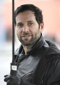 """Eion Bailey On The Set Of """"Once Upon A Time"""""""