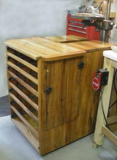 Drill Press Cabinet From S