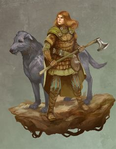 Woodwoman of Mirkwood by ~JonHodgson on deviantART