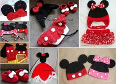 Free Mickey and Minnie Mouse Free Crochet Patterns
