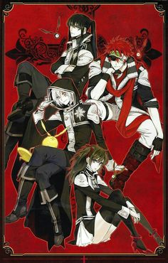 3: Underrated anime: D. GRAY MAN FOREVER