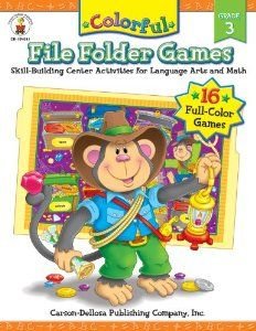 Colorful File Folder Games, Grade 3: Skill-Building Center Activities for Language Arts and Math (Colorful Game Books) by Melissa Hughes. $22.99. Series - Colorful Game Books. Publisher: Carson-Dellosa Publishing (January 1, 2006)