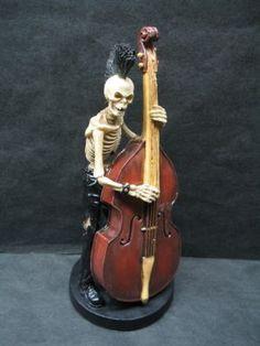 #skeleton #bass #psychobilly