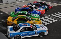 "apply-pressure: ""JTCC's Skylines of Legend "" Racing Car Design, Sports Car Racing, Race Cars, Auto Racing, Nissan Skyline Gtr R32, R32 Gtr, Classic Japanese Cars, Japanese Sports Cars, Import Cars"