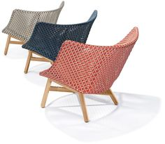 MBRACE Garden armchair Mbrace Collection by Dedon design Sebastian Herkner Outdoor Lounge, Outdoor Chairs, Outdoor Furniture, Pool Furniture, Outdoor Areas, Wooden Furniture, Ergonomic Computer Chair, Sofa, Butterfly Chair