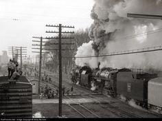 RailPictures.Net Photo: CBQ 4960 Chicago Burlington & Quincy Railroad Steam 2-8-2 at Earlville, Illinois by Marty Bernard