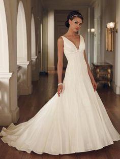 Línea A Vestidos de novia para casamientos
