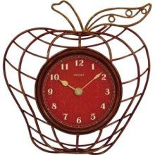 Chaney Apple-shaped Wall Clock 46061