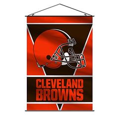 NFL Cleveland Browns Wall BannerOrange * Click image to review more details.