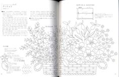 Herb Embroidery on Linen Japanese Craft Book | eBay