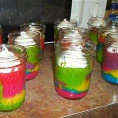 Rainbow Clown Cake food-and-drink