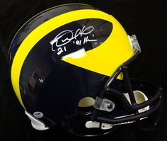 AAA Sports Memorabilia LLC - Desmond Howard Michigan Wolverines NCAA Hand Signed Full Size Replica Helmet with 91 Heisman Inscription, $315.00 (http://www.aaasportsmemorabilia.com/collegiate/desmond-howard-michigan-wolverines-ncaa-hand-signed-full-size-replica-helmet-with-91-heisman-inscription/)