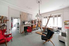 Lo studio è ancora attivo ed ospita la Fondazione Franco Albini...venite a trovarci!