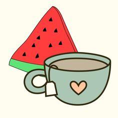 Watermelon Tea Time Simple Living, Tea Time, Watermelon, Blog, High Tea, Blogging