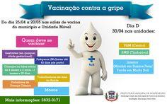 INFORMATIVO GERAL: Dia D de vacinação contra gripe em Montenegro