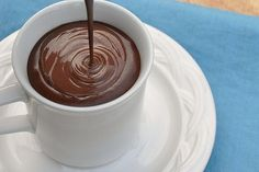 Thick Italian Hot Chocolate (from Food Lover's Odyessy)