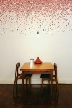 Wonderful ways with wallpaper from insideout.com.au.