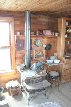 Old Homesteaders Kitchen in Fort Rock , Oregon.