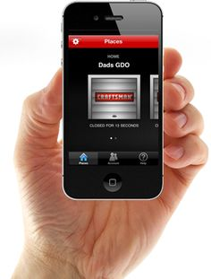 CRAFTSMAN ASSURELINK™ GARAGE DOOR OPENERS. Secure your home with Craftsman's AssureLink Garage Door Opener and mobile app, so you can monitor and operate your garage door with an internet-enabled smartphone, tablet or computer. Get peace of mind by keeping garage door control at your fingertips.